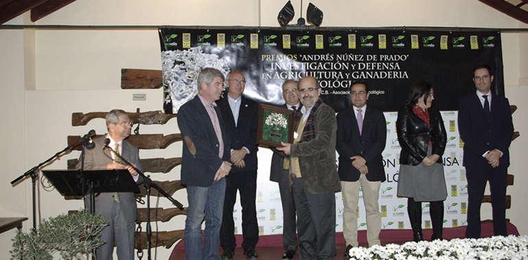 """Dionisio de Nova, promotor de Astrowine, XVI Premio """"Nuñez de Prado"""" a la defensa de la agricultura y ganadería ecológica"""