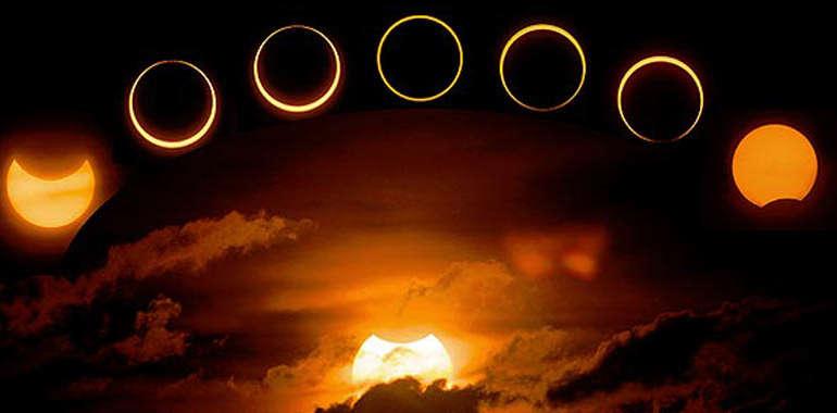 El eclipse en Europa