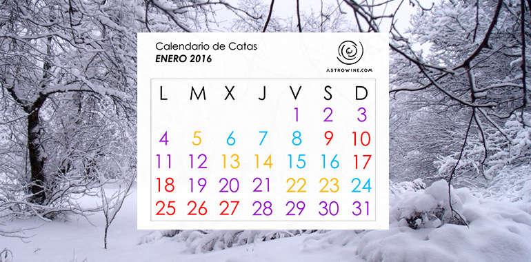 Calendario de Catas ENERO 2016