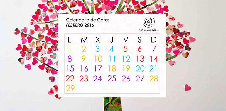 Calendario de Catas FEBRERO 2016