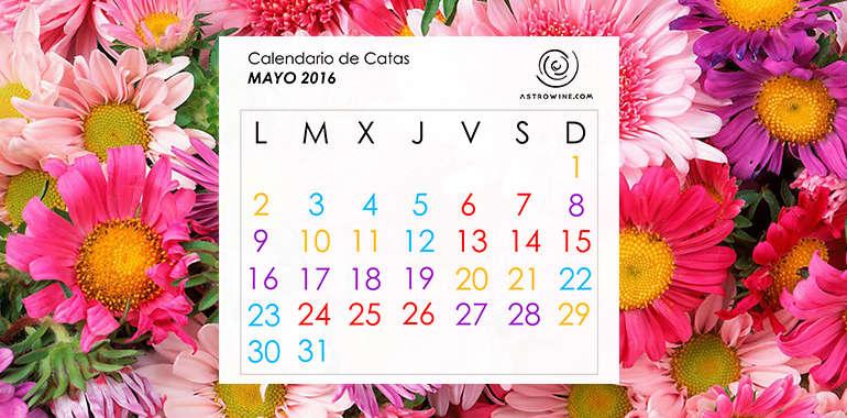 Calendario de Catas MAYO 2016