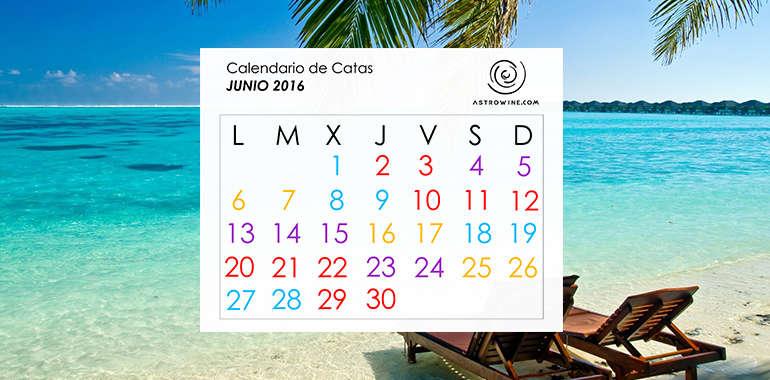 Calendario de Catas JUNIO 2016
