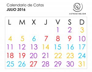 calendario de catas julio 2016
