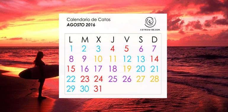 Calendario de Catas AGOSTO 2016