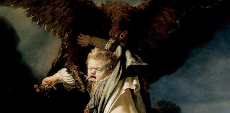 Acuario y el rapto de Ganímedes