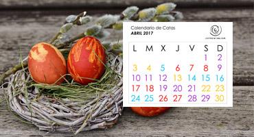 Calendario de Catas ABRIL 2017