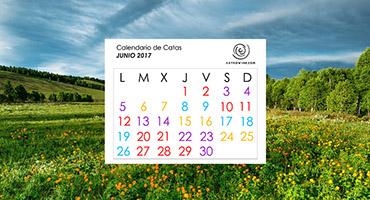 Calendario de Catas JUNIO 2017