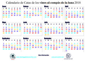 CALENDARIO CATAS 2018 ESPAÑOL - curvas