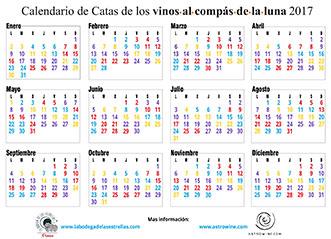 Calendario de catas 2017